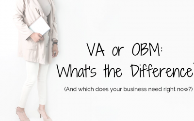 What's the difference between a VA and an OBM?
